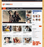 Video Box WordPress Template