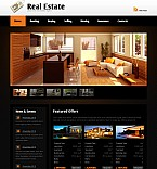 Stretched Flash CMS Theme Template #40988