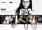 Stretched Flash CMS Theme Template #40990