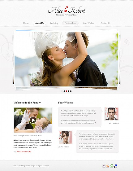 Free flash dating website templates