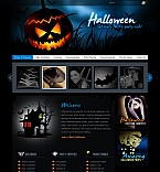 Stretched Flash CMS Theme Template #41331