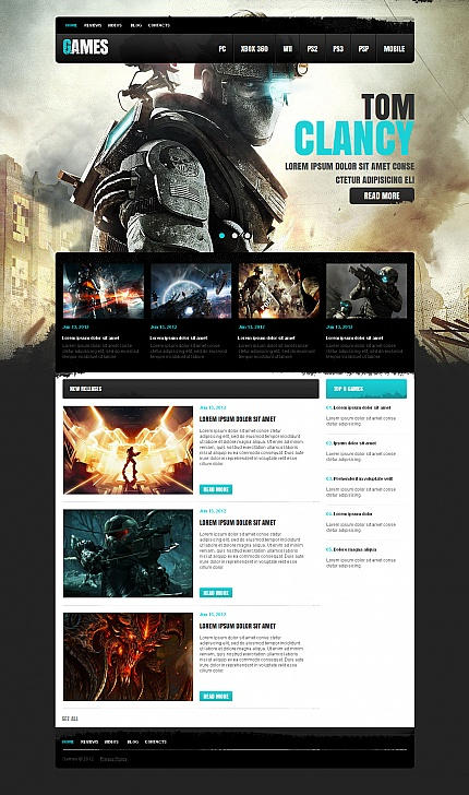 Games Most Popular website inspirations at your coffee break? Browse for more Moto CMS HTML #templates! // Regular price: $139 // Sources available:<b>Sources Not Included</b> #Games #Most Popular #Moto CMS HTML
