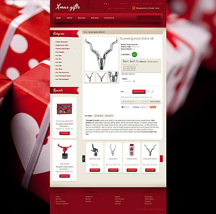 OpenCart Product Page