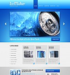 Stretched Flash CMS Theme Template #41548