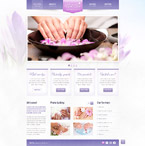 Responsive JavaScript Animated Template #41652