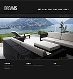 Stretched Flash CMS Theme Template #41783