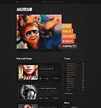 Responsive JavaScript Animated Template #41990
