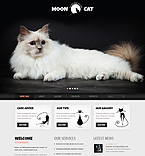 Moon Cat WordPress Template