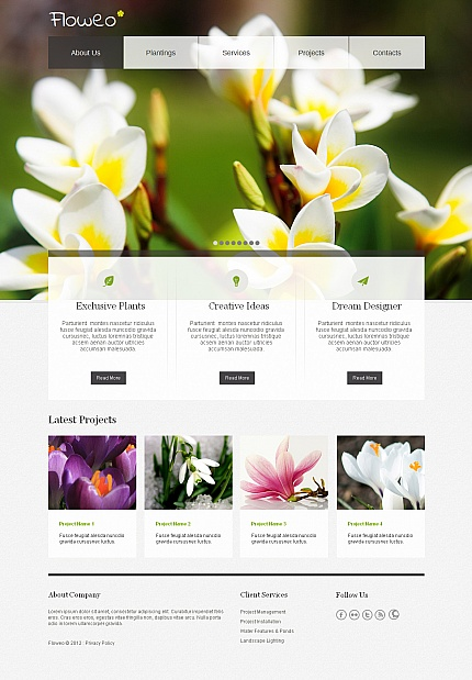 Flowers Most Popular website inspirations at your coffee break? Browse for more Moto CMS HTML #templates! // Regular price: $139 // Sources available:<b>Sources Not Included</b> #Flowers #Most Popular #Moto CMS HTML