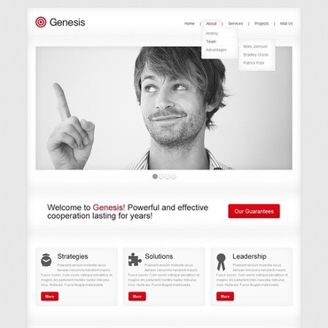 Website Template # 42323