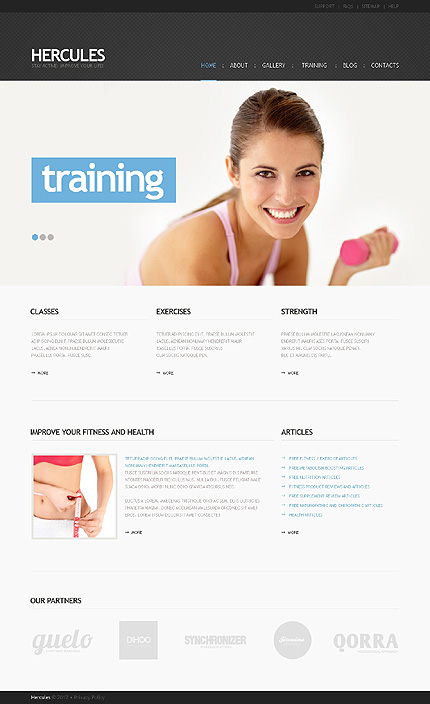 reservoir dogs facts training website template wordpress