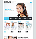 Download Template Monster Website Template 42341