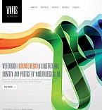 Facebook HTML CMS Template Template #42394