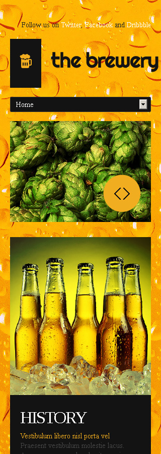 Brewery Templates website inspirations at your coffee break? Browse for more Bootstrap #templates! // Regular price: $75 // Sources available: .HTML,  .PSD #Brewery Templates #Bootstrap