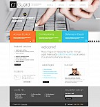 Stretched Flash CMS Theme Template #42568