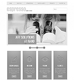 Responsive JavaScript Animated Template #42678