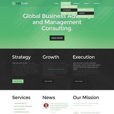 Website Template # 43098