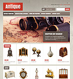 Antiques OpenCart Template