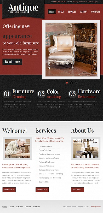 Antique Templates website inspirations at your coffee break? Browse for more Facebook HTML CMS Template #templates! // Regular price: $59 // Sources available:<b>Sources Not Included</b> #Antique Templates #Facebook HTML CMS Template