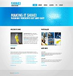 Stretched Flash CMS Theme Template #43181