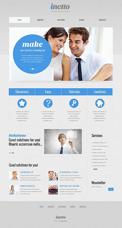 Internet website inspirations at your coffee break? Browse for more Moto CMS HTML #templates! // Regular price: $139 // Sources available:<b>Sources Not Included</b> #Internet #Moto CMS HTML