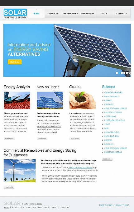 Alternative Power website inspirations at your coffee break? Browse for more Facebook HTML CMS Template #templates! // Regular price: $59 // Sources available:<b>Sources Not Included</b> #Alternative Power #Facebook HTML CMS Template