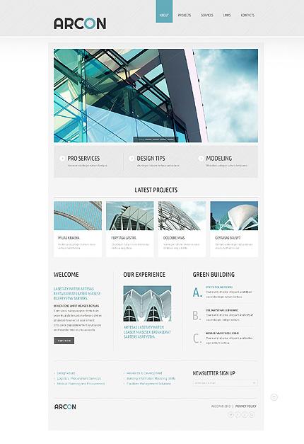 Plantilla web sitios web ideal para arquitectura ahora for Arquitectura sitio web