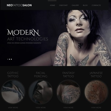 WordPress Theme # 43569