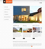Stretched Flash CMS Theme Template #43605