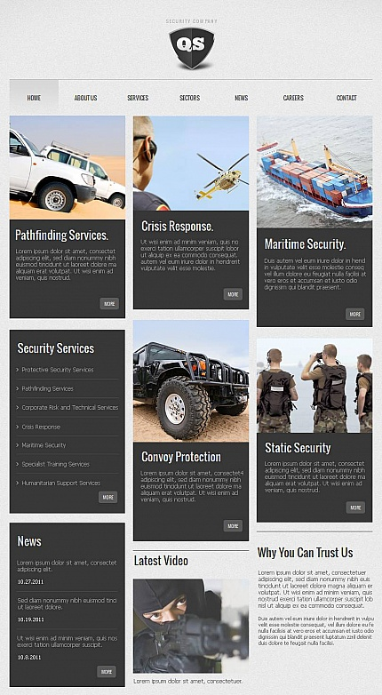 Security website inspirations at your coffee break? Browse for more Facebook HTML CMS Template #templates! // Regular price: $59 // Sources available:<b>Sources Not Included</b> #Security #Facebook HTML CMS Template