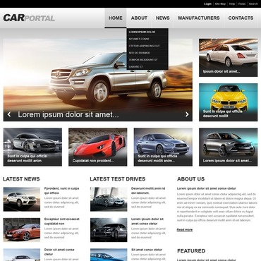 Website Template # 43742