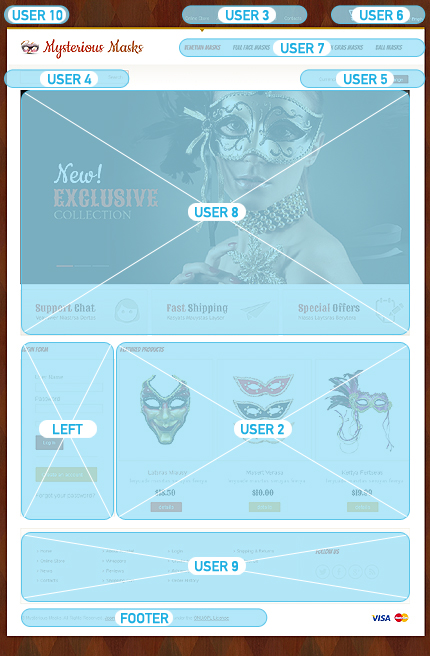 Halloween Templates website inspirations at your coffee break? Browse for more VirtueMart #templates! // Regular price: $139 // Sources available: .HTML,  .PSD, .PHP, .XML, .CSS, .JS #Halloween Templates #VirtueMart