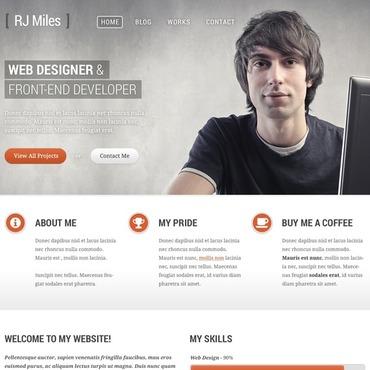 WordPress Theme # 43885