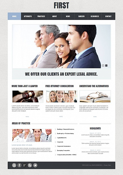 Law website inspirations at your coffee break? Browse for more Moto CMS HTML #templates! // Regular price: $139 // Sources available:<b>Sources Not Included</b> #Law #Moto CMS HTML