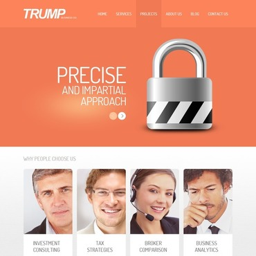 WordPress Theme # 43980