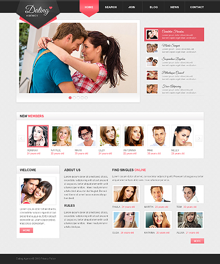 Dating Most Popular website inspirations at your coffee break? Browse for more Responsive JavaScript Animated #templates! // Regular price: $69 // Sources available: .HTML,  .PSD #Dating #Most Popular #Responsive JavaScript Animated