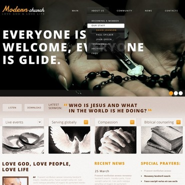 Website Template # 44129