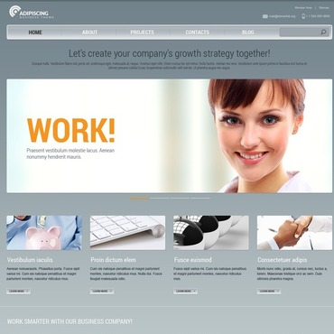 Website Template # 44202