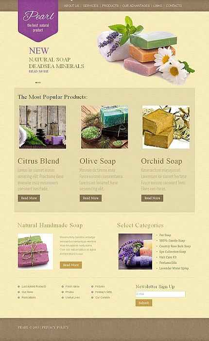 Hobbies &amp; Crafts website inspirations at your coffee break? Browse for more Moto CMS HTML #templates! // Regular price: $139 // Sources available:<b>Sources Not Included</b> #Hobbies &amp; Crafts #Moto CMS HTML