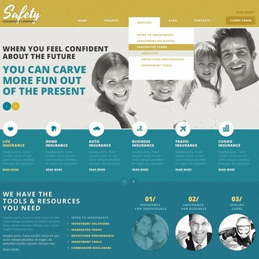 WordPress Theme # 44257