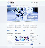 Responsive JavaScript Animated Template #44324
