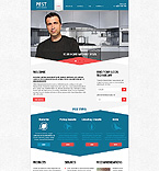 Responsive JavaScript Animated Template #44400