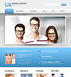 Responsive JavaScript Animated Template #44424