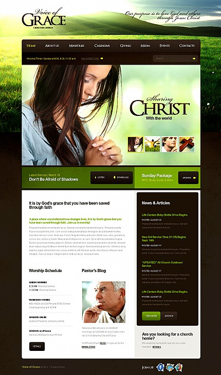 Religious Most Popular website inspirations at your coffee break? Browse for more Stretched Flash CMS Theme #templates! // Regular price: $99 // Sources available:.XFL #Religious #Most Popular #Stretched Flash CMS Theme