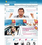 Stretched Flash CMS Theme Template #44523