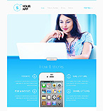 Responsive JavaScript Animated Template #44531
