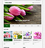 Flowers WordPress Template