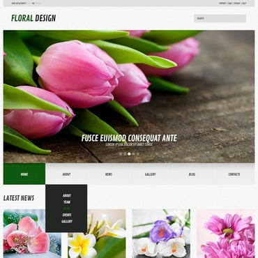 WordPress Theme # 44583