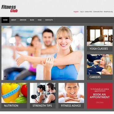 WordPress Theme # 44759