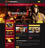 Stretched Flash CMS Theme Template #44774